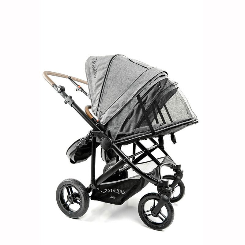 StrollAir Twin Stroller Max Vent In Hood