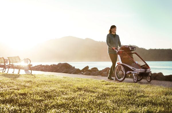 THULE Chariot Stroller Easy to Navigate with Stroller Kit | ANB Baby