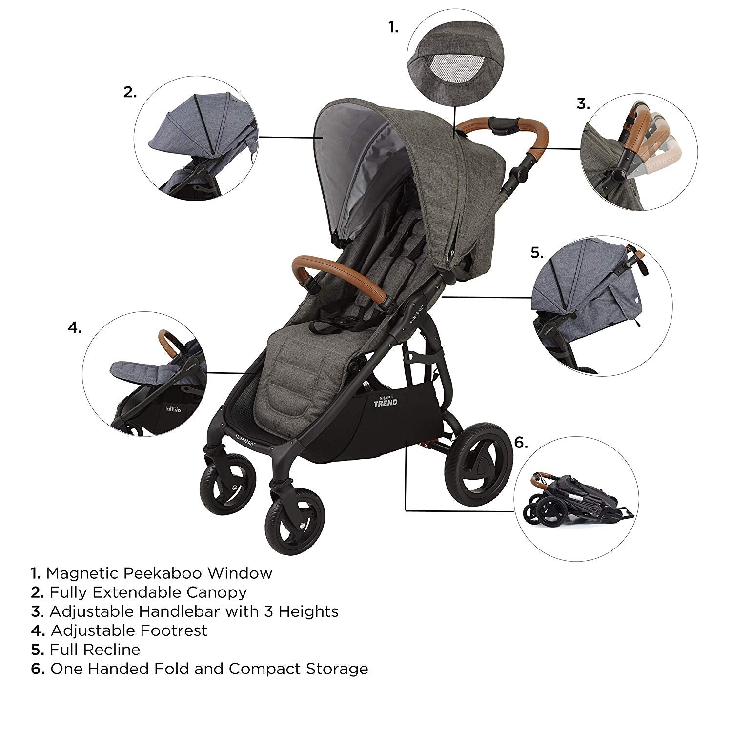 Valco Baby Snap 4 Trend Stroller | ANB Baby