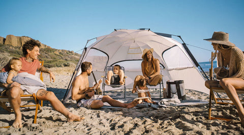 Person - Veer Family Basecamp Pop-Up Tent, Gray