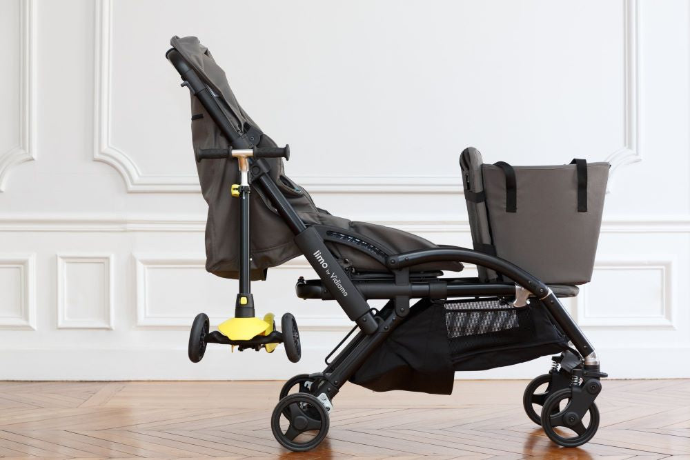 VIDIAMO Limo Stroller with Tote Bag, Scooter Holder | ANB Baby