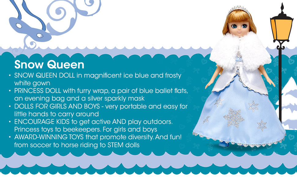 Lottie Dolls Snow Queen Doll Perfect Toy for Girls and Boys | ANB Baby