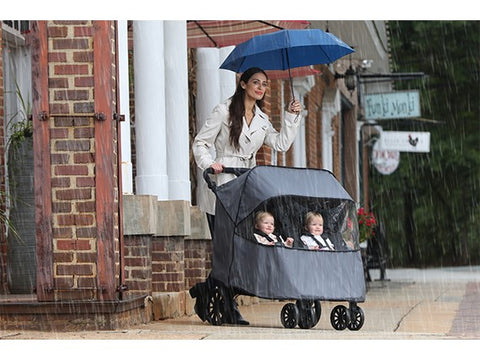 Britax B-Lively Double Stroller Wind and Rain Stroller