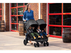 Britax B-Lively Double Stroller - Mom with Child | ANB Baby