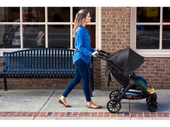 B-Lively Double Stroller - Height adjustable handlebar | ANB Baby