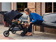 B-Lively Double Stroller Mom Chill with Child | ANB Baby