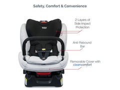 Boulevard ClickTight Convertible Car Seat with Anti-Rebound Bar - 2 layers of side impact protection | ANB Baby