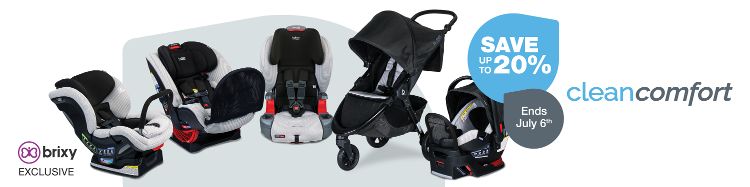 BRITAX Clean Comfort Collection Promotion | ANB Baby