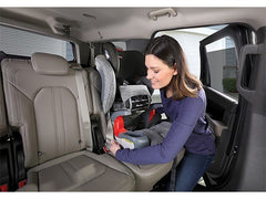 Mother Install Britax Grow With You Harness-to-Booster Seat with ClickTight in Car | ANB Baby