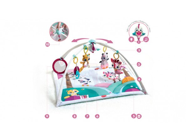 Tiny Princess Tales Gymini Deluxe - ANB Baby