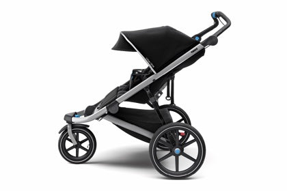 THULE Urban Glide 2 Double Jogging Stroller Side View | ANB Baby