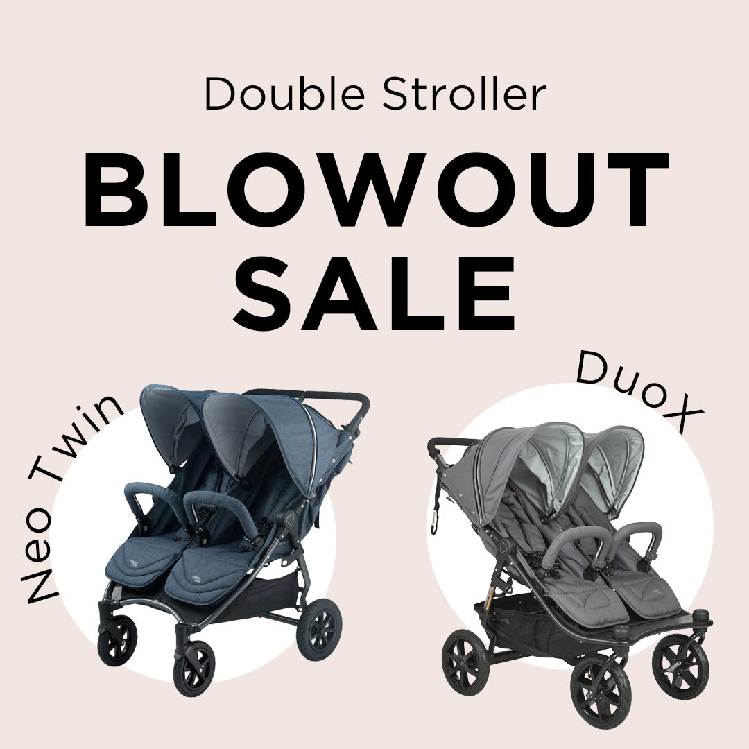 VALCO BABY Neo Twin and Duo X Double Stroller Sale | ANB Baby