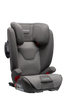 NUNA AACE 2-in-1 Booster Car Seat Side Angle - Granite | ANB Baby