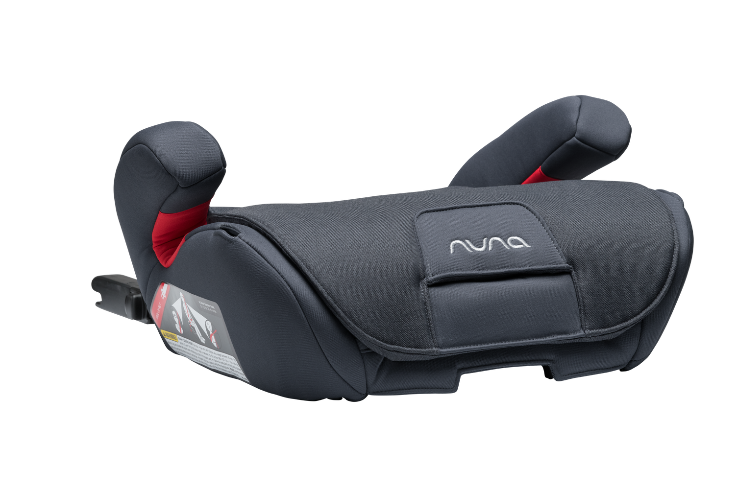 NUNA AACE 2-in-1 Booster Car Seat No Back Angle - Lake | ANB Baby