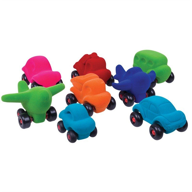 Rubbabu Little Vehicles Assorted Styles