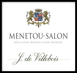 J. de Villebois Menetou-Salon Central Valley Loire Valley, France 2017