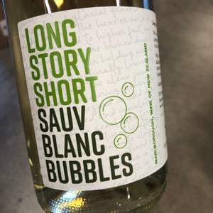 "Hillersden ""Long Story Short"" Sauvignon Blanc Bubbles Marlborough, New Zealand  2018"