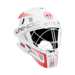 Goalie Mask Unihoc INFERNO 66 white/neon red