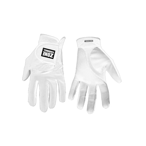 Goalie gloves MONSTER all white