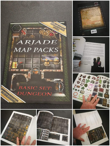 RPG Book - Mystic Times - Arjade Map Packs: Basic Set: Dungeon