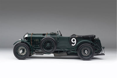 Bentley Blower 1929 2nd Le Mans - 1:8 Scale Model Car