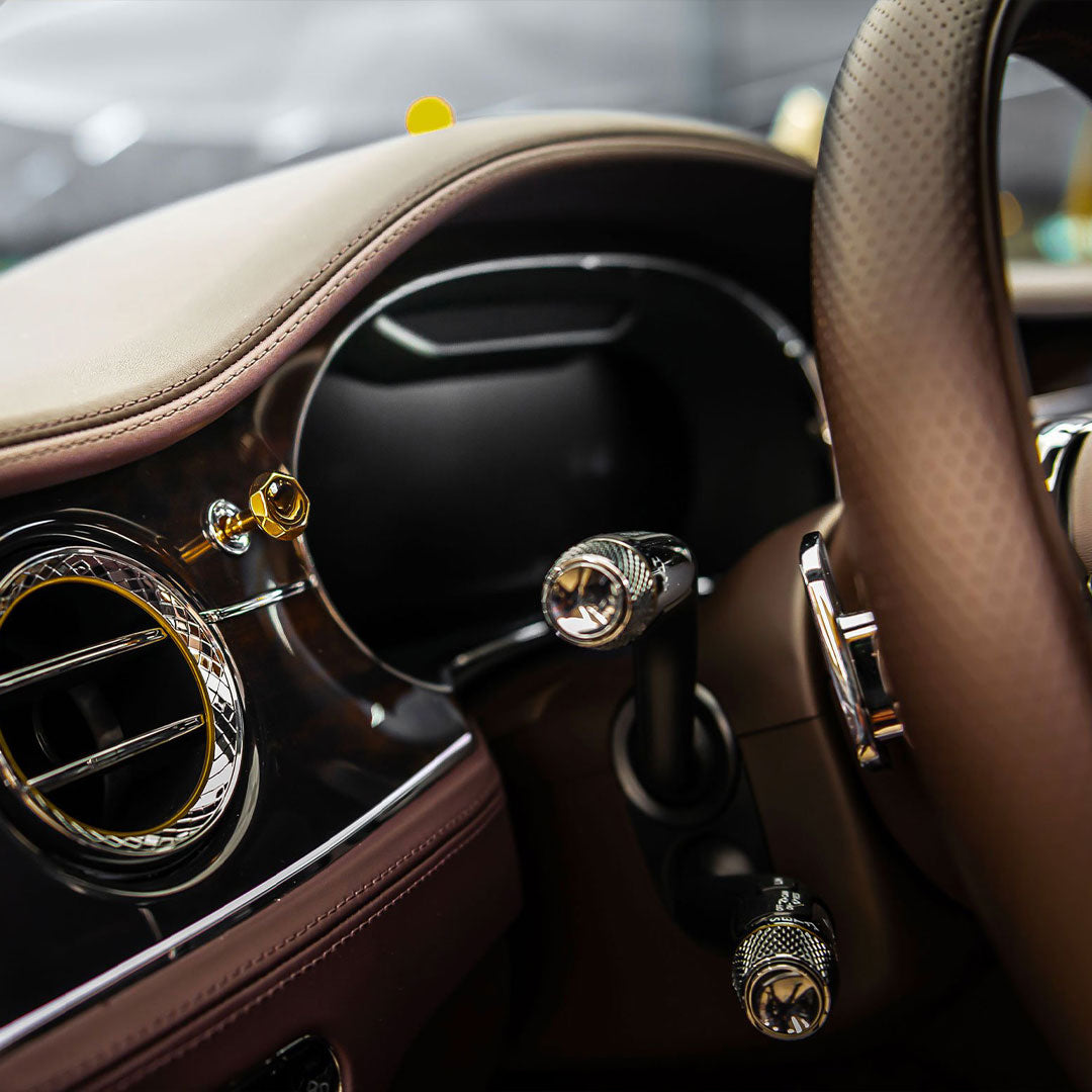 Bentley - Gold Air Vent Knob