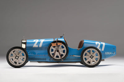 Bugatti Type 35T 1926 Targa Florio Winner - 1:8 Scale Model Car