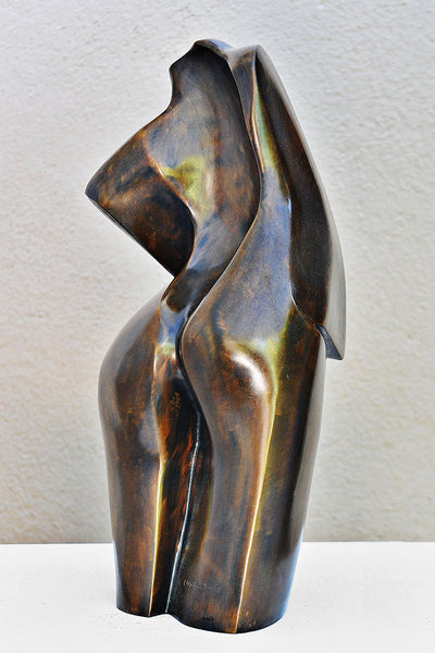 Arrogance Bronze Sculpture By Christiane Chiavazza
