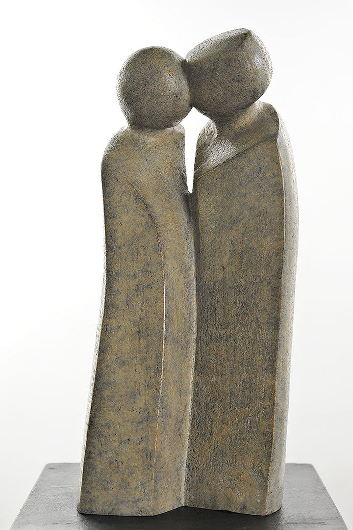 Tendresse Bronze Sculpture By Christiane Chiavazza