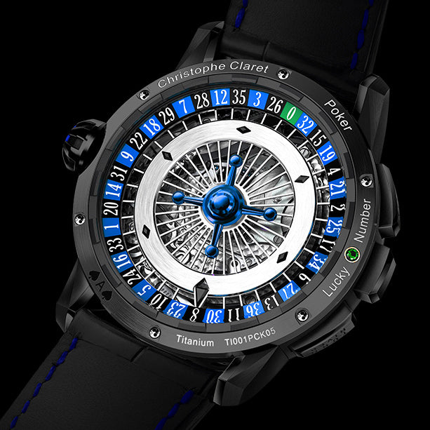 Christophe Claret Poker Watch