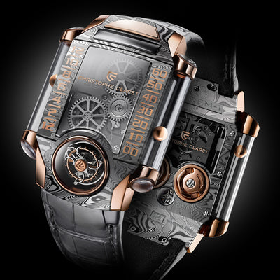 Christophe Claret X-TREM-1 Watch With Damascened Steel