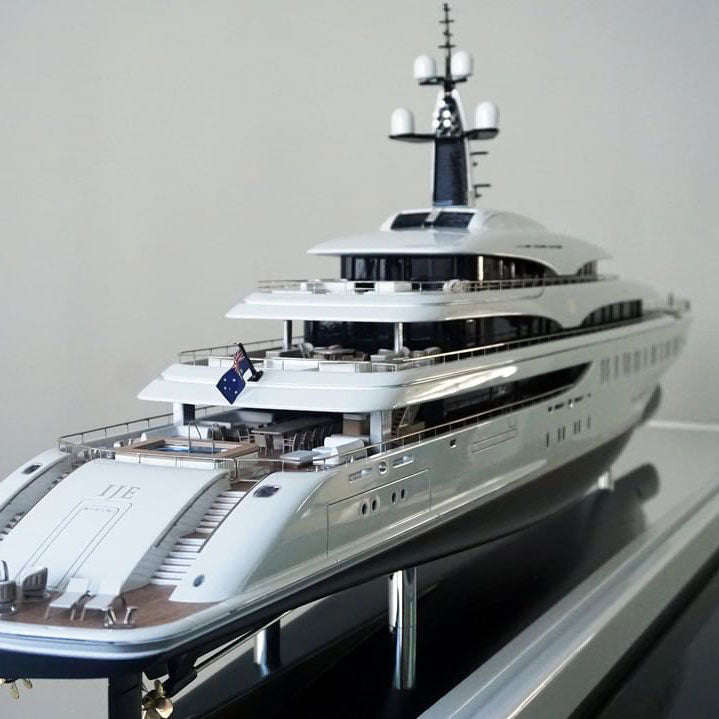 Scale Model Ships, Sailing Yachts and Superyachts - Example 2
