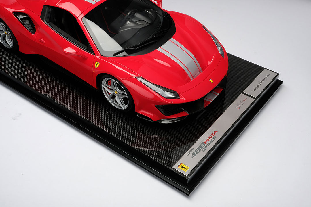 Ferrari 488 Pista Spider - 1:8 Scale Model Car