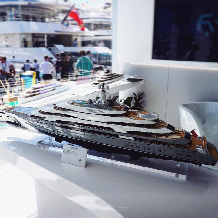 Scale Model Ships, Sailing Yachts and Superyachts - Example 8