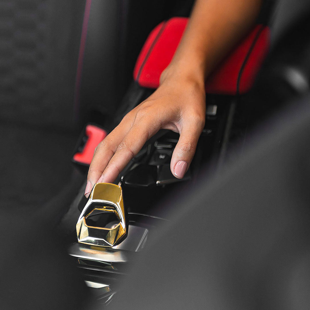 Lamborghini Huracán - Gold Ignition Switch Cover