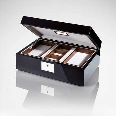 Linley Paris Skyline Box -  Luxury Wooden Gift Humidor/Jewellery Engraving