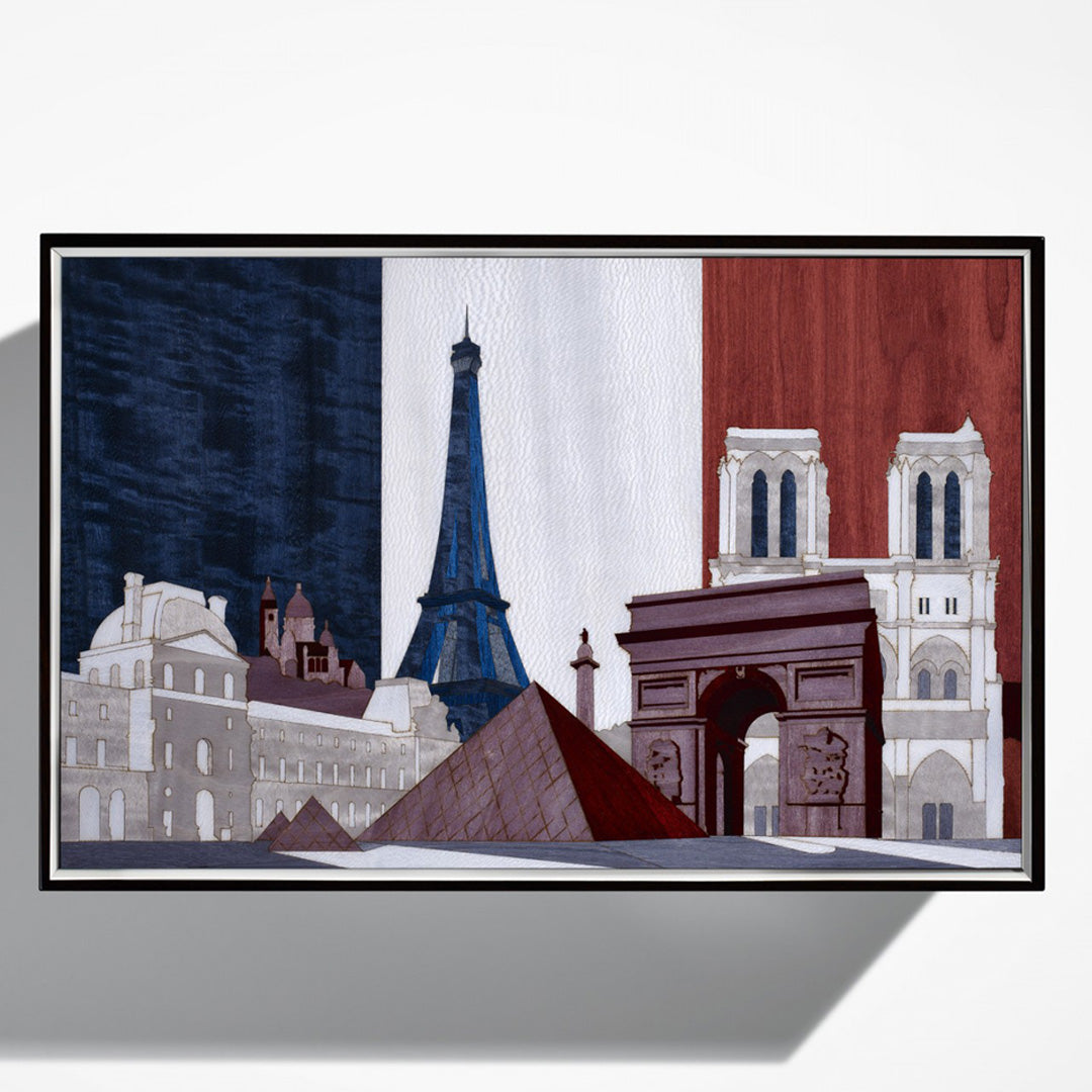Linley Paris Skyline Box -  Luxury Gift Humidor/Jewellery Engraved