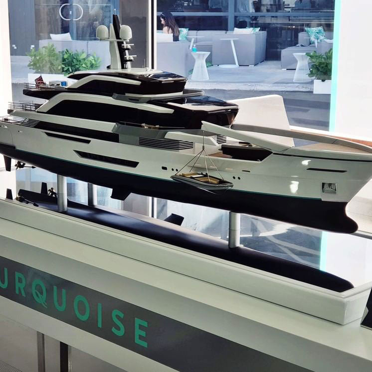 Scale Model Ships, Sailing Yachts and Superyachts - Example 6
