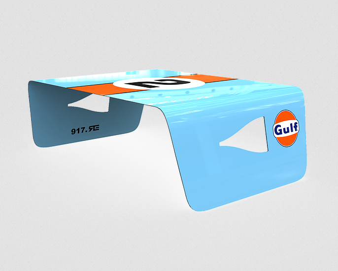 Racing & Emotion NACA Coffee Table - Gulf