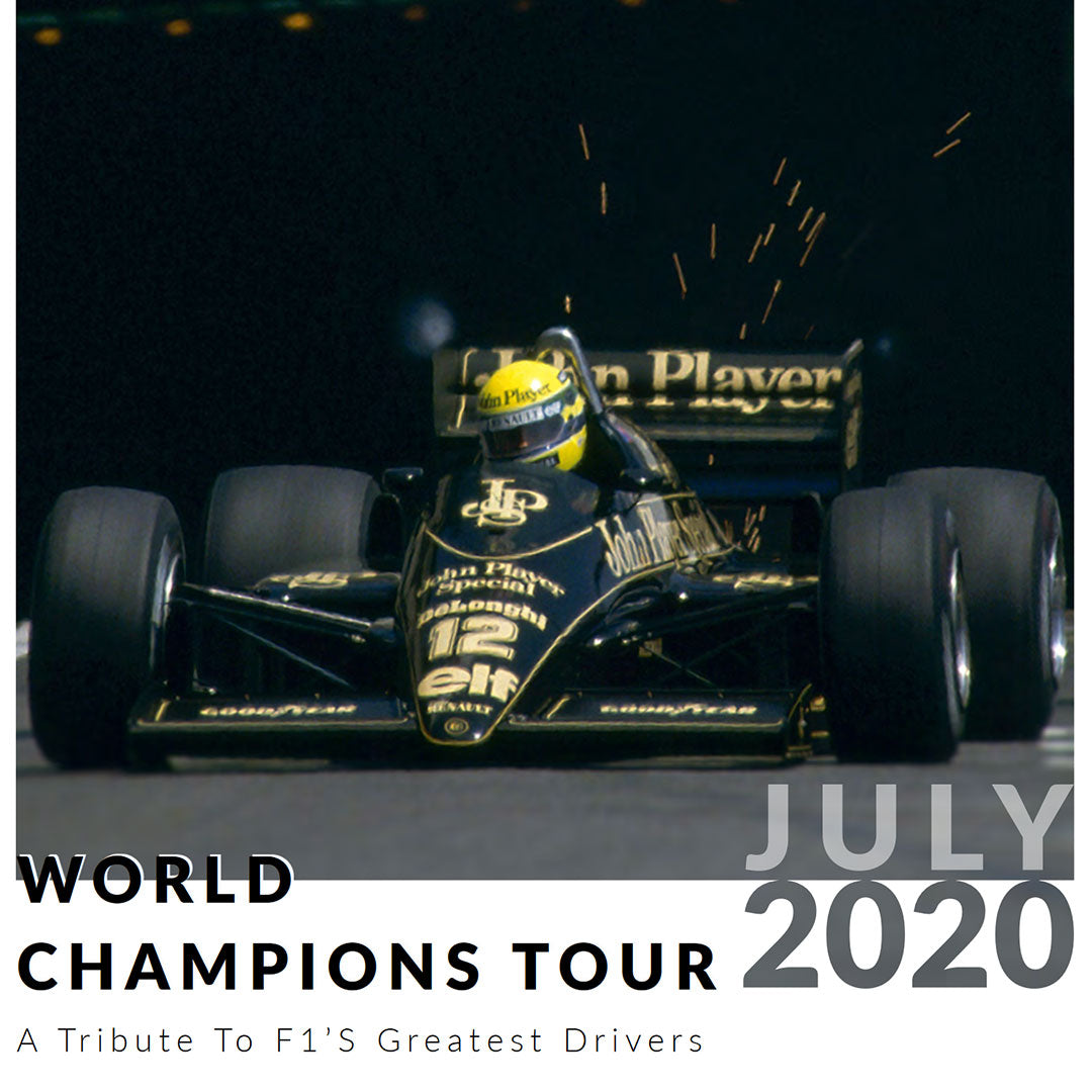 Ultimate Driving Tours: F1 World Champions Tour (19 - 26 July 2020)