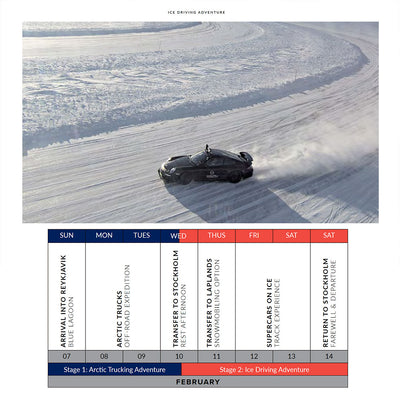 Ultimate Driving Tours: Ice Driving Adventure (6 Feb - 14 Feb 2021)