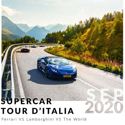 Ultimate Driving Tours: Supercar Tour d'Italia (30 Aug - 4 Sept 2020)