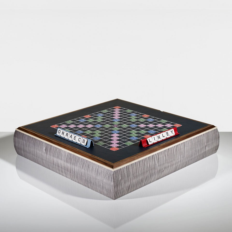 Linley Games Compendium - Scrabble & Trivial Pursuit Luxury Board