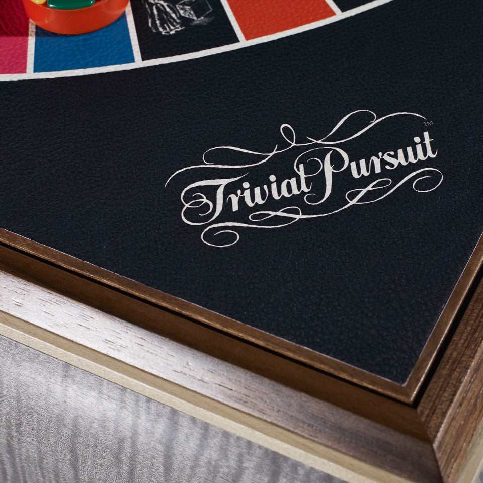 Linley Games Compendium - Wooden Luxury Trivial Pursuit Board Pieces