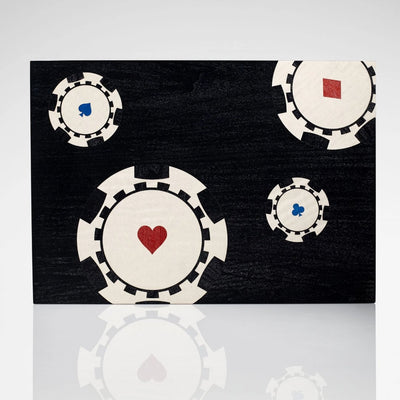 Linley Poker Box - Luxury Wooden Set
