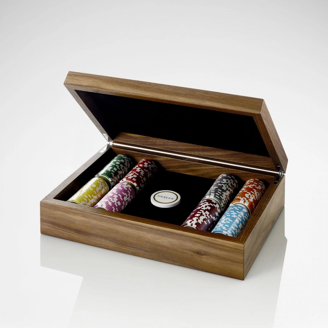 Linley Poker Box - Luxury Wooden Pieces