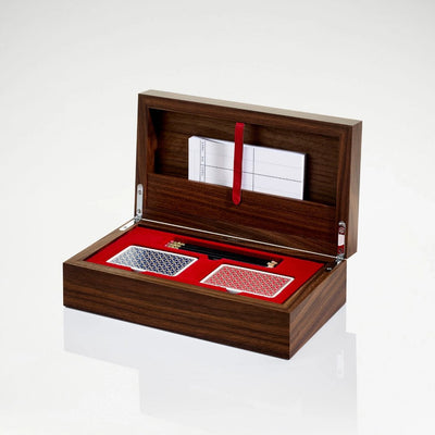Linley Tower Bridge Box - Luxury Wooden Case With Cards
