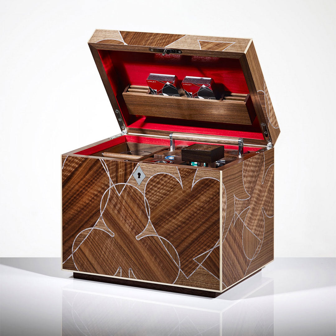Linley Vice Box - Luxury Wooden Storage Engravable Gift
