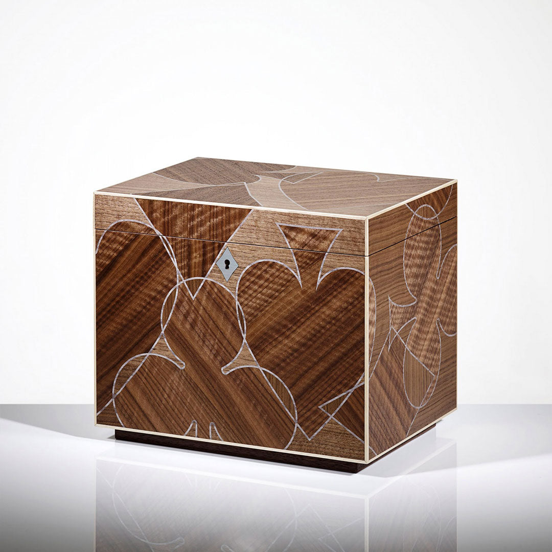 Linley Vice Box - Luxury Wooden Storage Engraving Gift