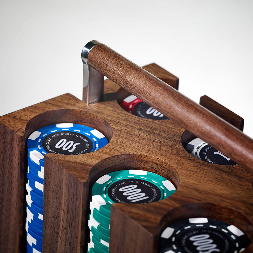 Linley Vice Box - Luxury Wooden Poker Engraved Gift